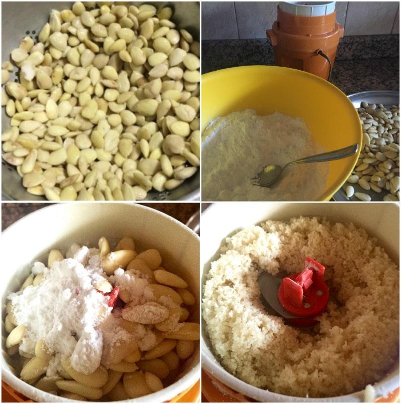 recette pâte d'amande facile- le massepain