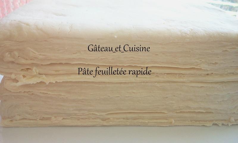 recette de la pâte feuilletée facile et rapide