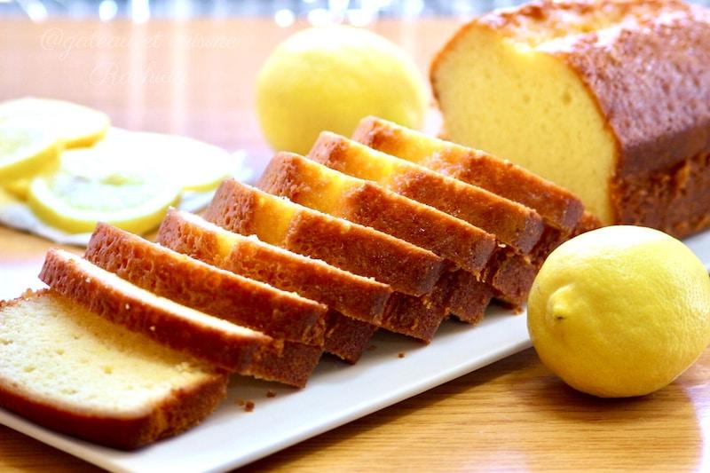 cake citron très facile et moelleux