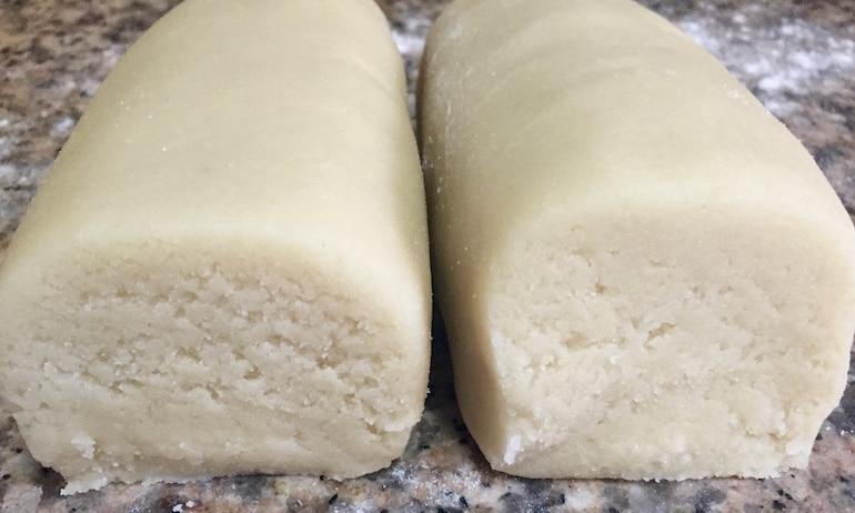 pâte d'amande -massepain