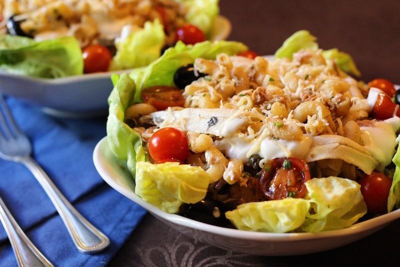 recette salade de pâte au thon facile