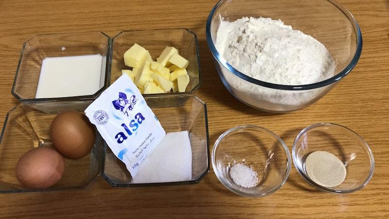 ingrédients beignet-recette de pâtisserie-gateau et cuisine rachida