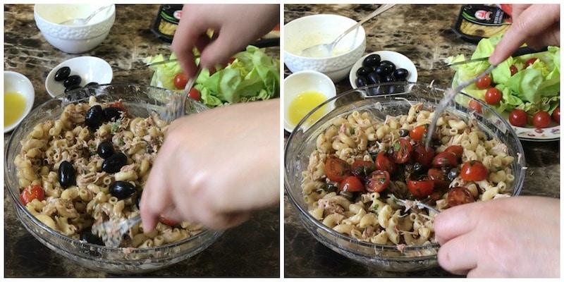 salade de pâte grecque facile