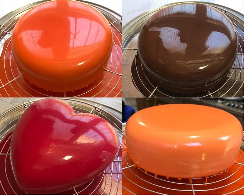 glaçage miroir au chocolat ultra brillant sans glucose ni lait concentré