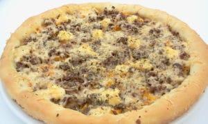 recette pizza maison à la viande hachée