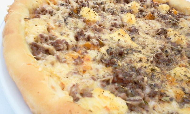 recette pizza maison viande hachée