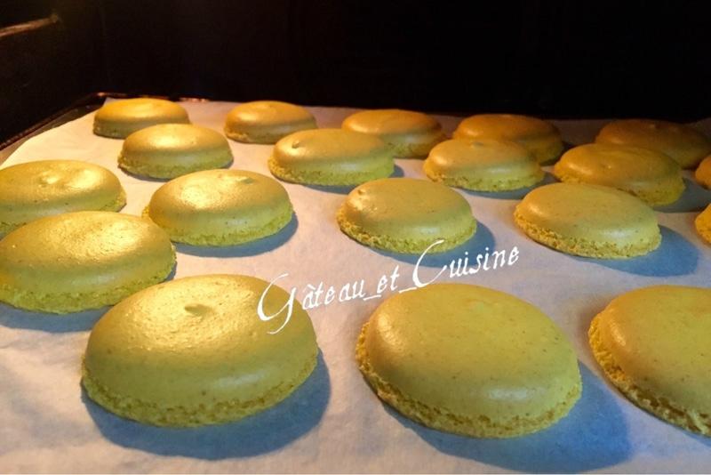 réussir les macarons à la meringue française,la cuisson au four