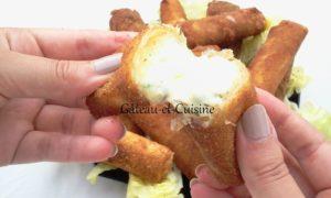idée repas croquette de pommes de terre et fromage
