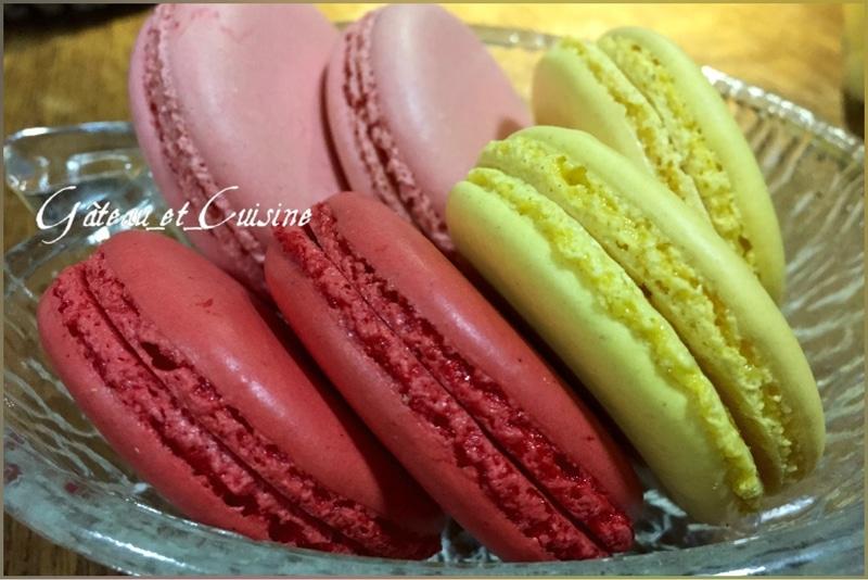 macarons à la meringue française ,la recette inratable