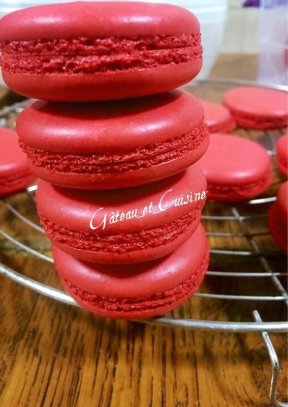 macarons à la meringue française ,recette de base