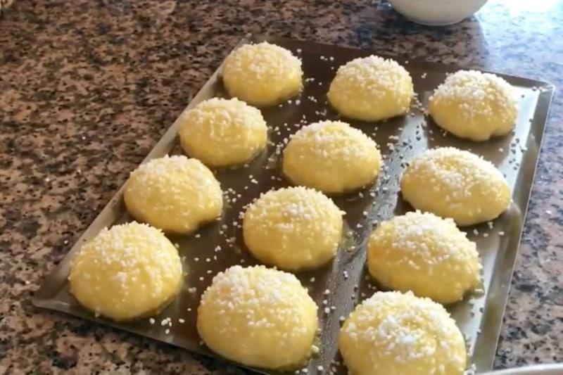 brioche au sucre perlé
