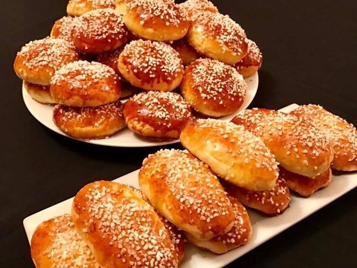 brioche nutella -brioche krachel au sucre perlé