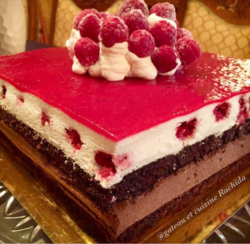 gâteau 2 chocolats - recette entremet