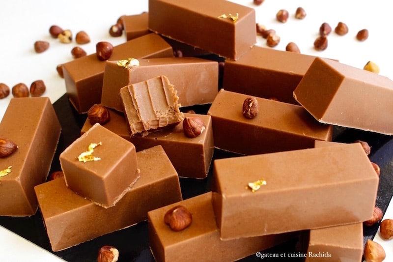 gianduja recette de chocolat noisettes