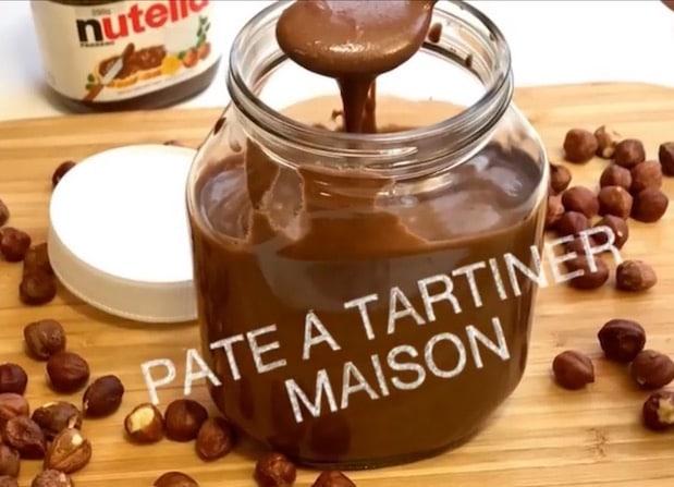 pâte à tartiner nutella maison-recette gateau et cuisine rachida