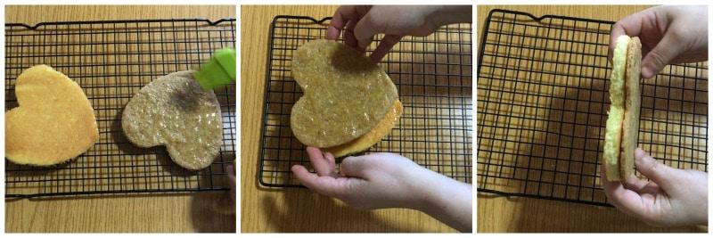 biscuit madeleine et streusel imperméabilisés avec du beurre de cacao