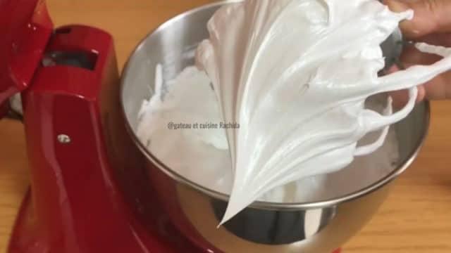 meringue italienne au bec d'oiseau