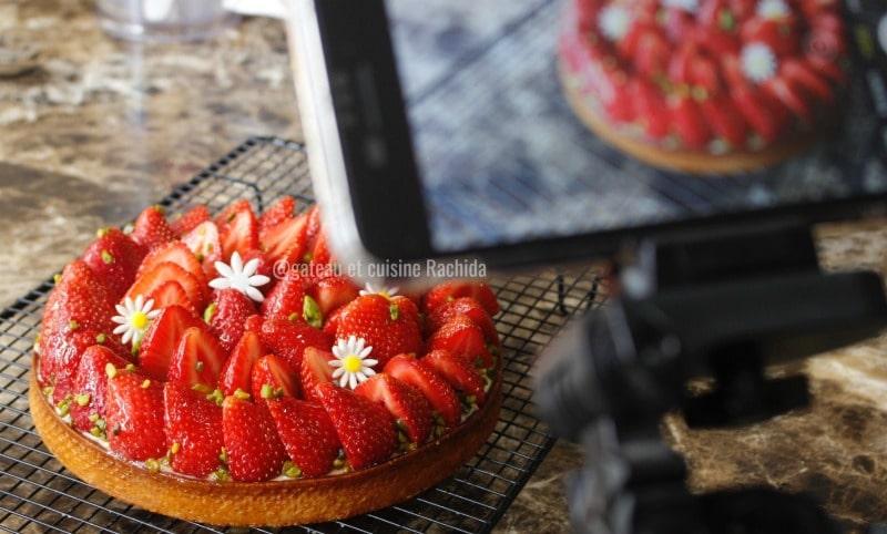 recette tartes aux fraise