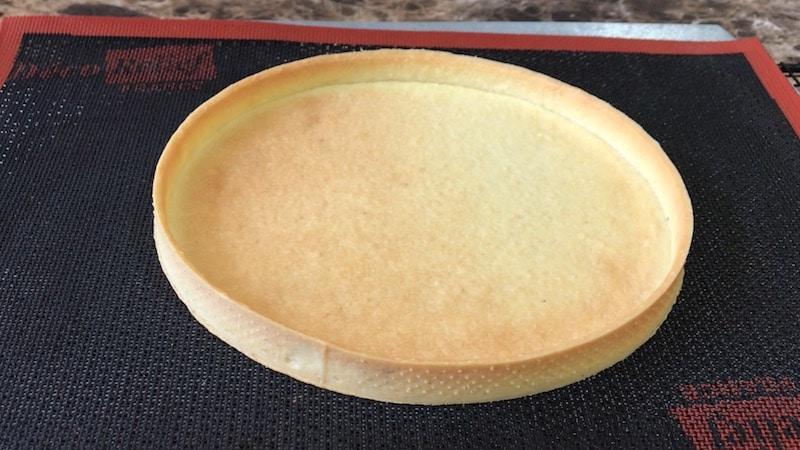 fond de tarte parfait avec pâte sucrée