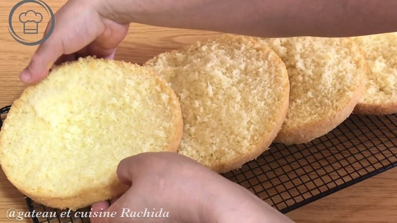 recette génoise très haute inratable -recette de base en pâtisserie