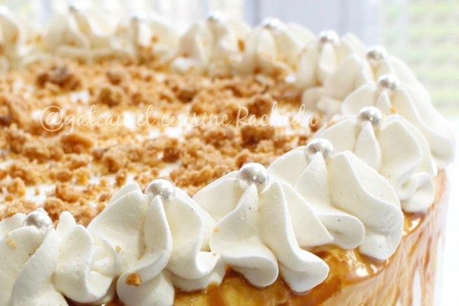 ganache montée chocolat blanc aérienne pour décorer des layer cake