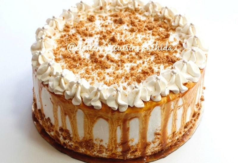 layer cake crumble et ganache chocolat