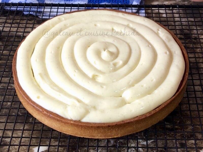 recette tarte aux fraises cap pâtissier
