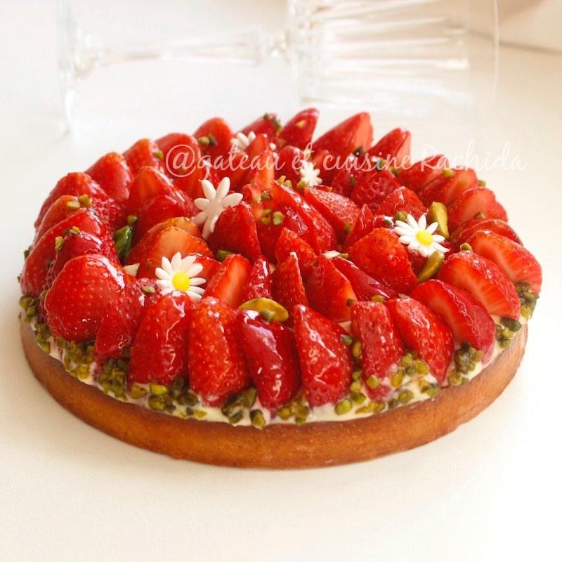 tartes aux fraise