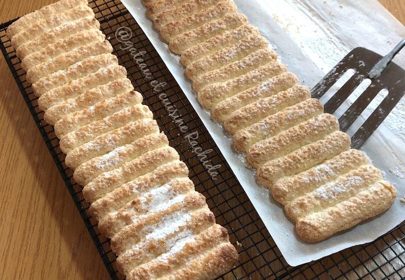 biscuits cuillère pour cartouchière charlotte