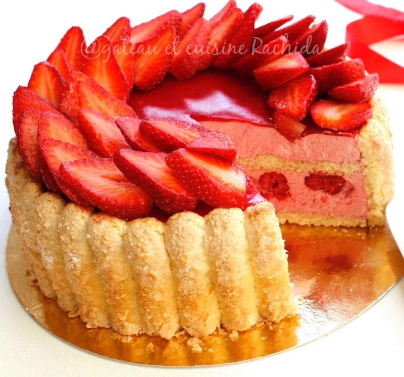recette de la charlotte aux fraises - recette charlotte facile maison