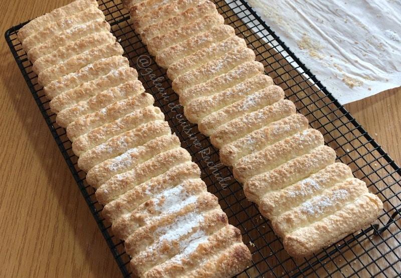 cartouchière biscuits cuillère pour charlotte