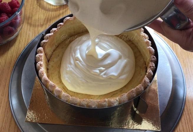 crème bavaroise vanille pour charlotte et entremets