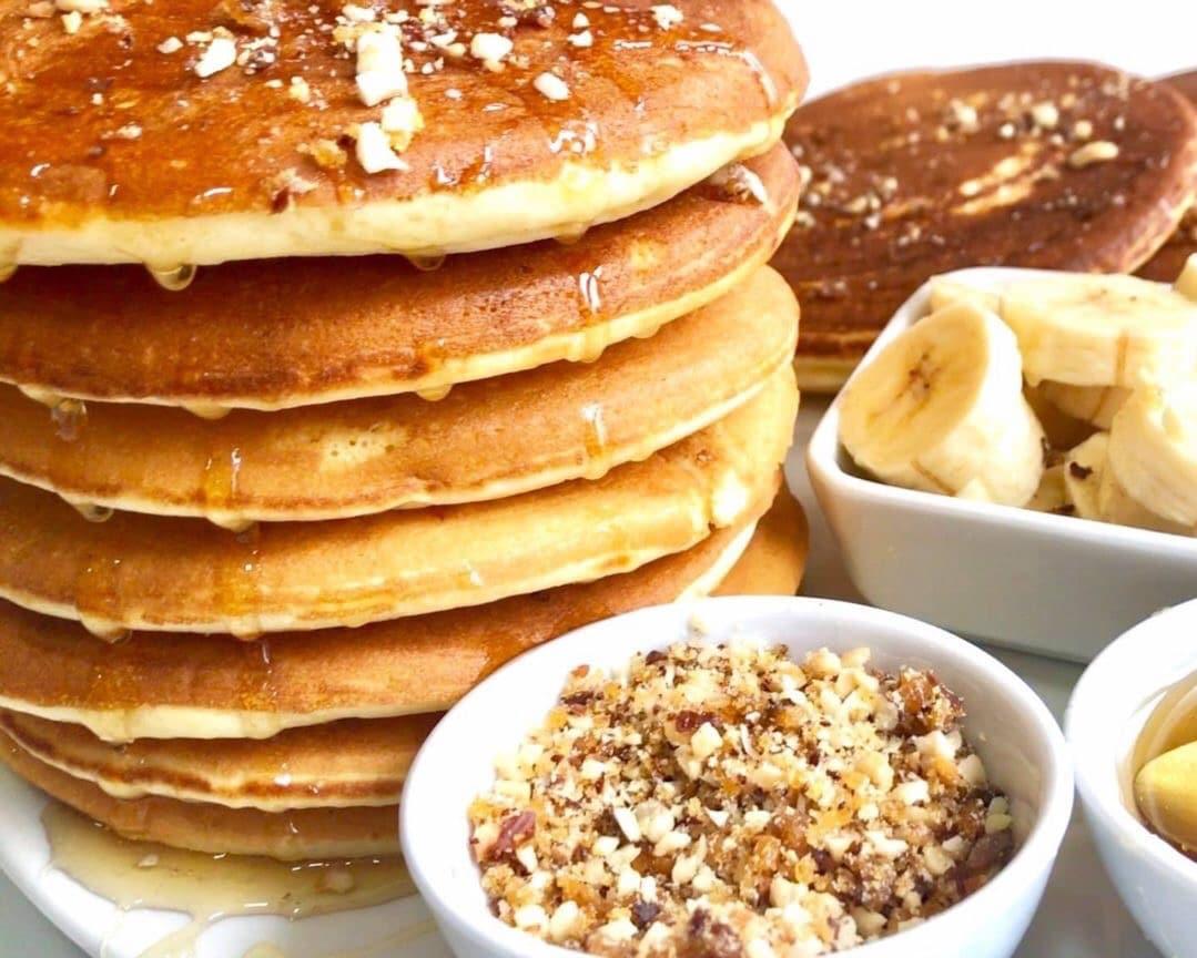 pancakes américains natures moelleux