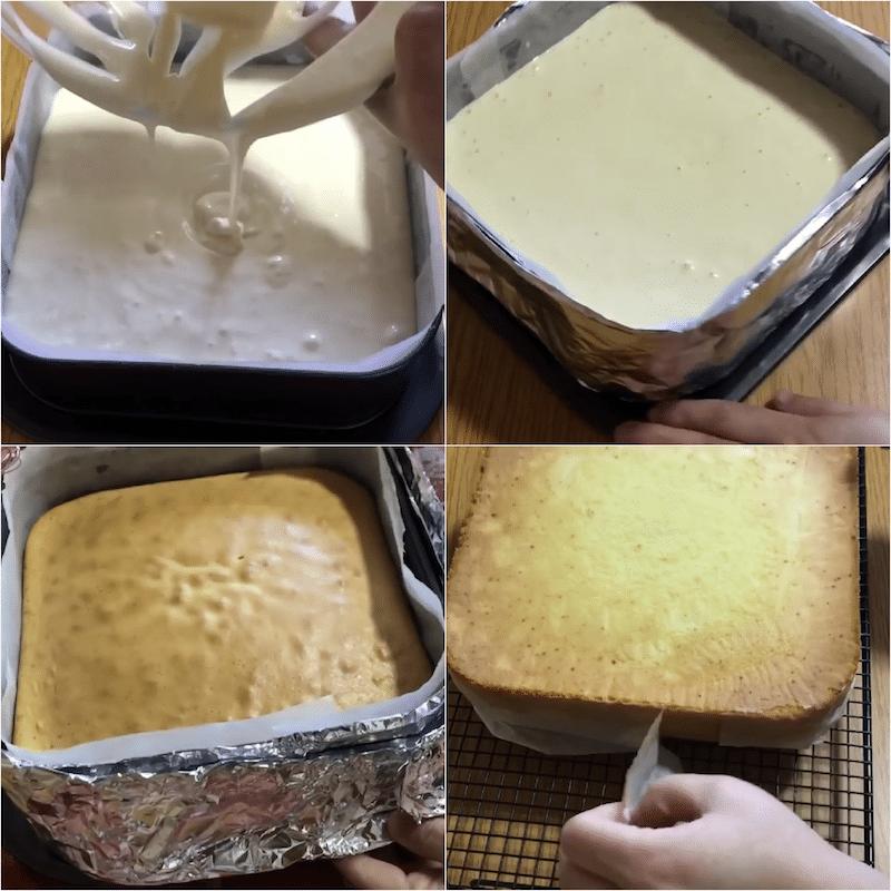 castella japonais -gâteau léger pour le goûter