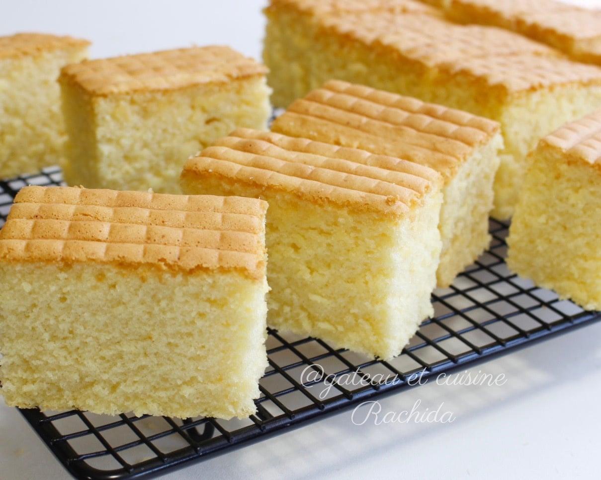 Gâteau au lait moelleux comme le castella