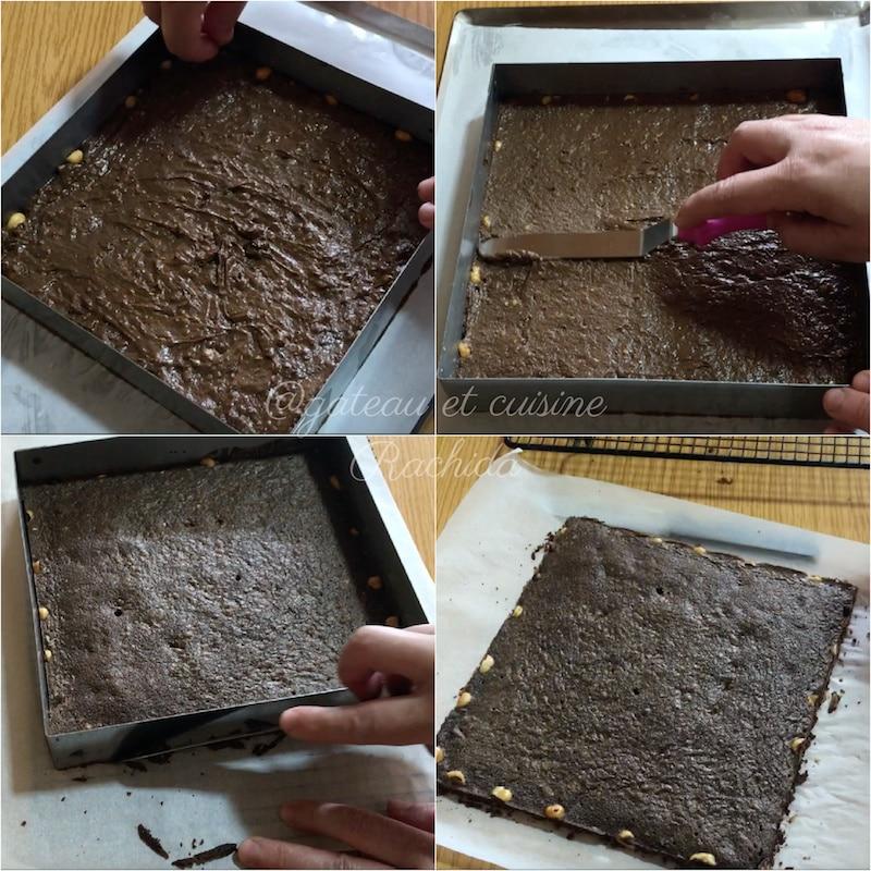 brownie noisette pour entremets jaubourg