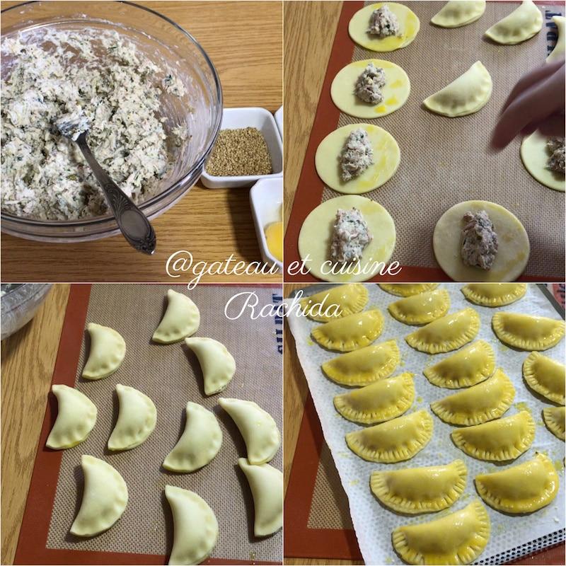 recette empanadas thon et ricotta