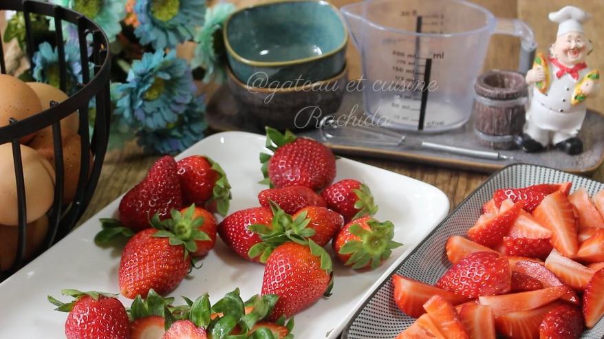 fraise pour tarte