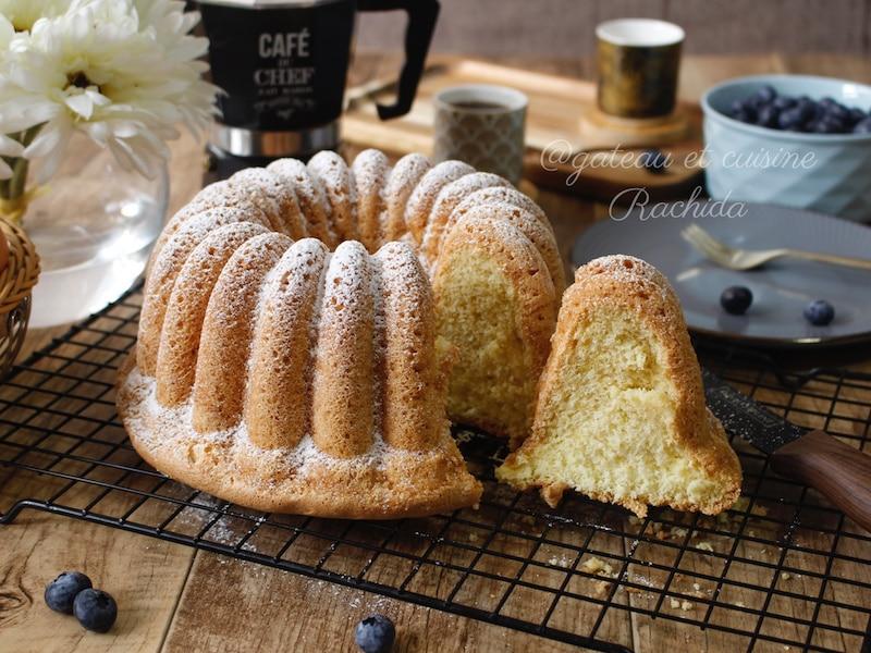 Recette du gâteau de Savoie ou biscuit de Savoie