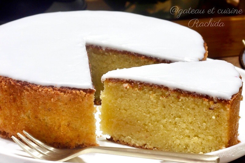 le gâteau nantais- gâteau aux amandes
