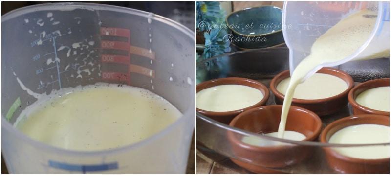 la crème brûlée à la vanille