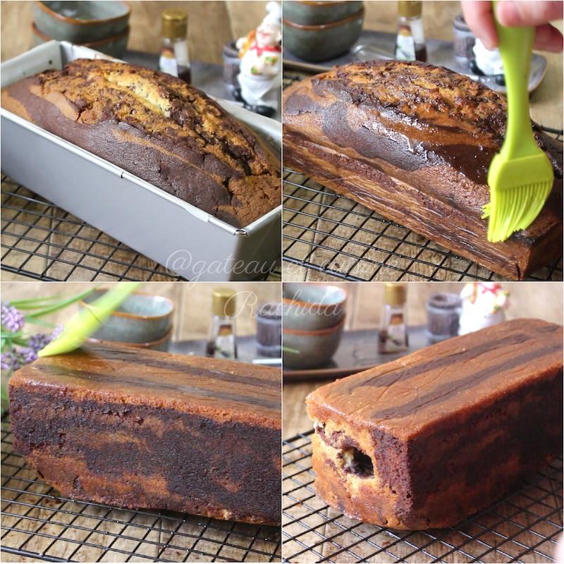 meilleur gâteau marbré très moelleux