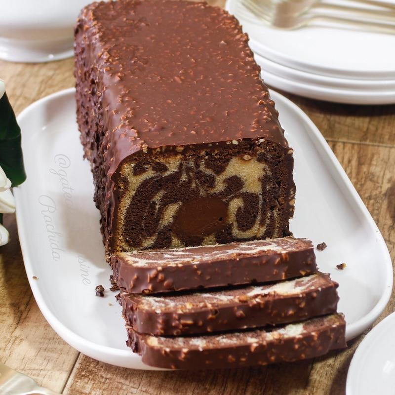 cake marbré ultra moelleux