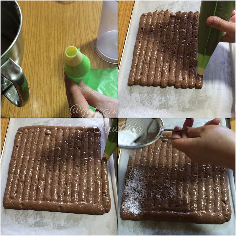 biscuit cuiller chocolat