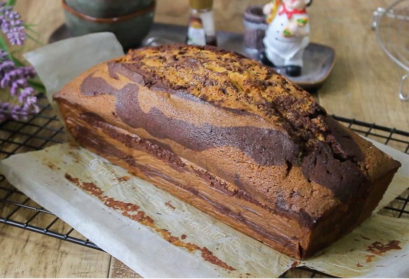 gâteaux marbré très moelleux pour le goûter
