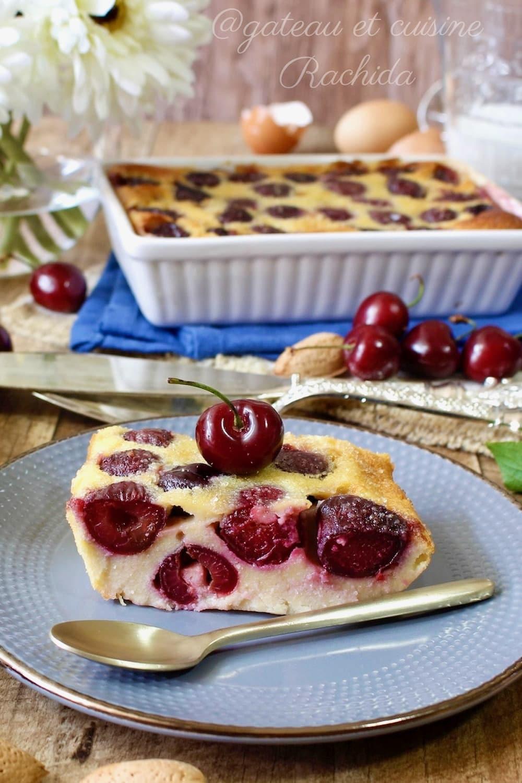 recette du clafoutis aux cerises et aux amandes