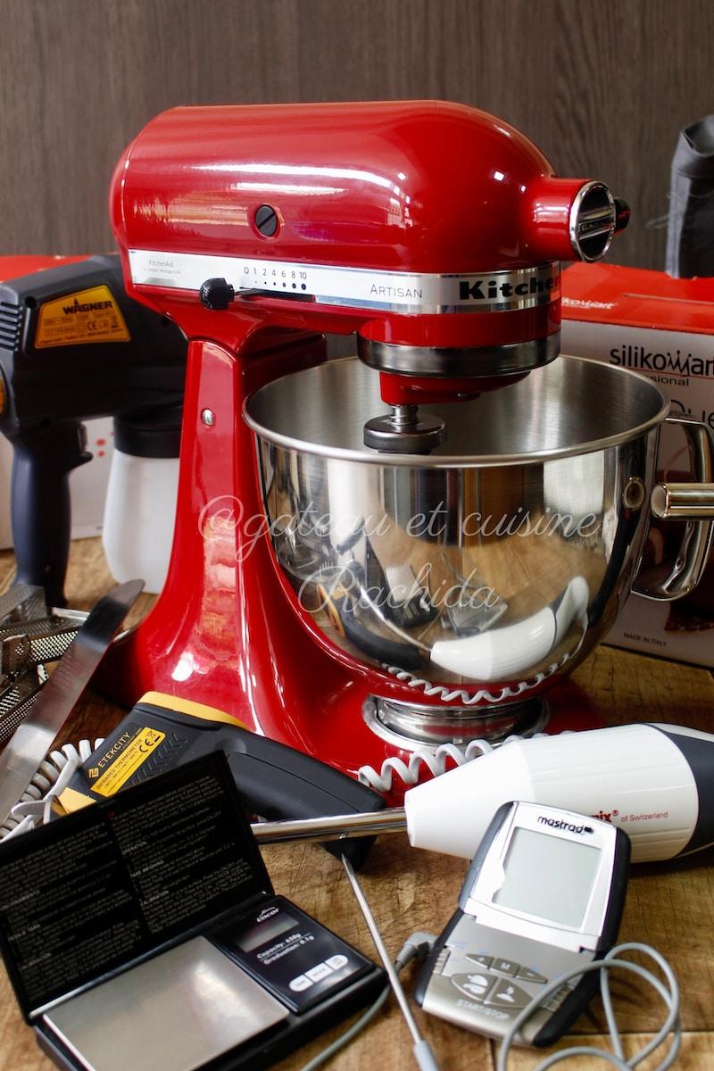 matériel de pâtisserie