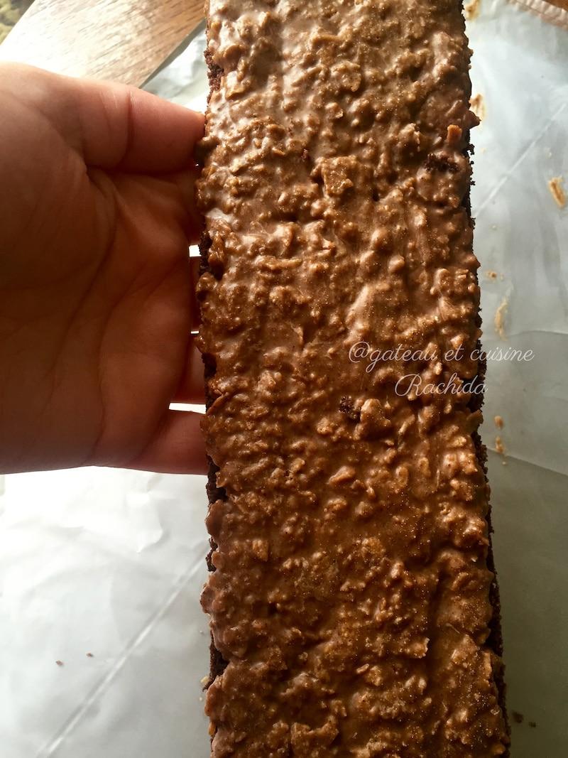 biscuit croustillant pour fond de gâteau et entremet