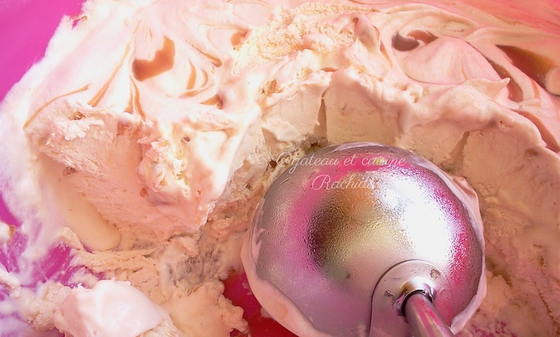 glace maison caramel beurre salé