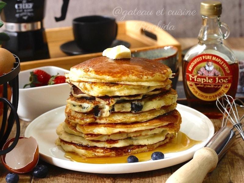 recette pancake authentique américain